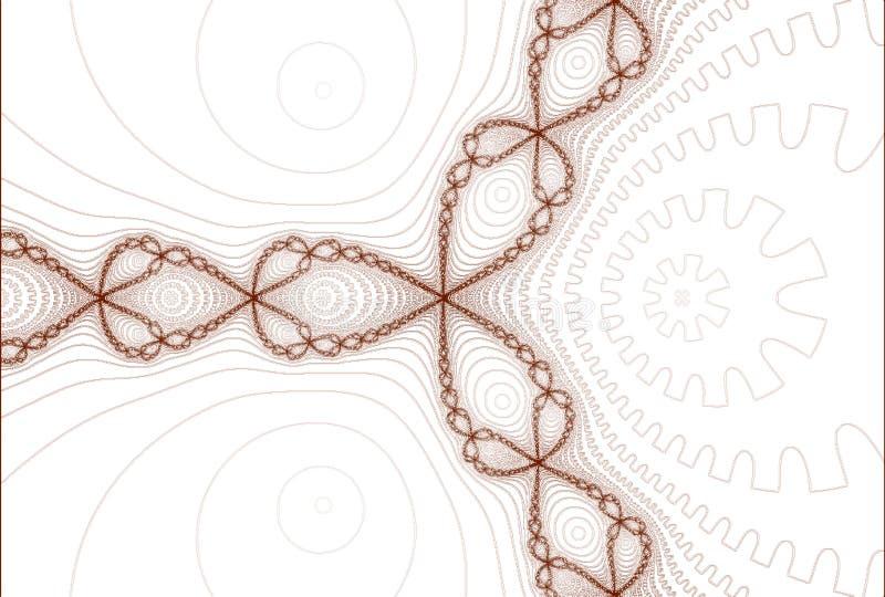 abstrakt broderi vektor illustrationer