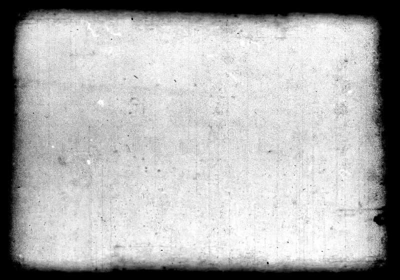 Abstrakt brudny lub starzeje się ekranową ramę royalty ilustracja