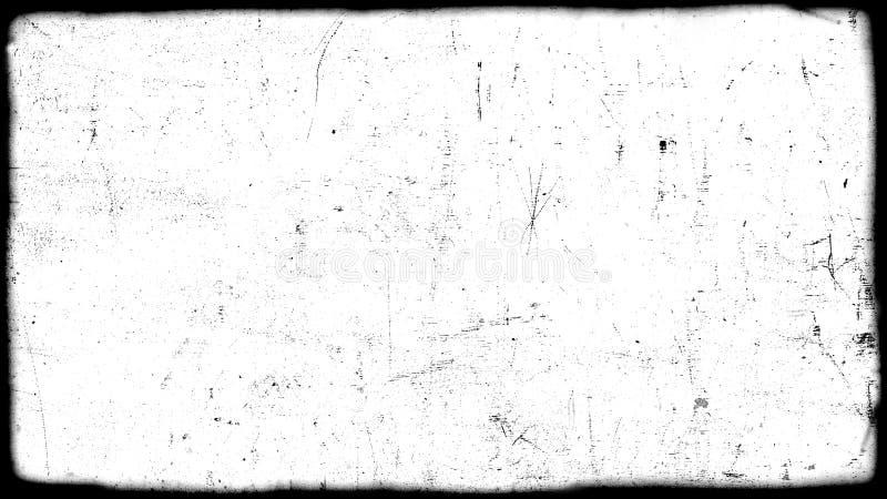 Abstrakt brudny lub starzeje się ekranową ramę obrazy stock