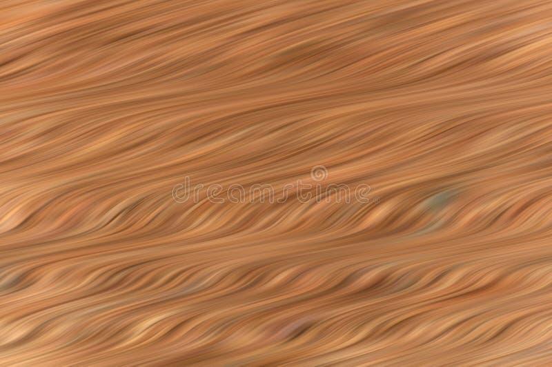 Abstrakt brunt vinkar bakgrund vektor illustrationer