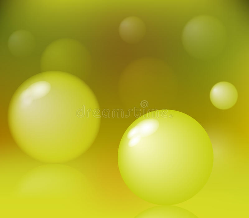 Abstrakt bubblor stock illustrationer