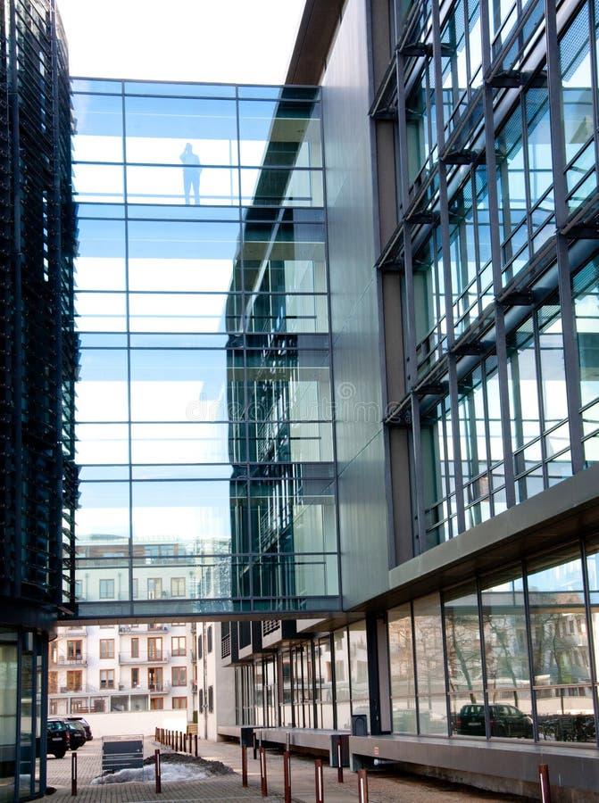 abstrakt byggnadskontor fotografering för bildbyråer