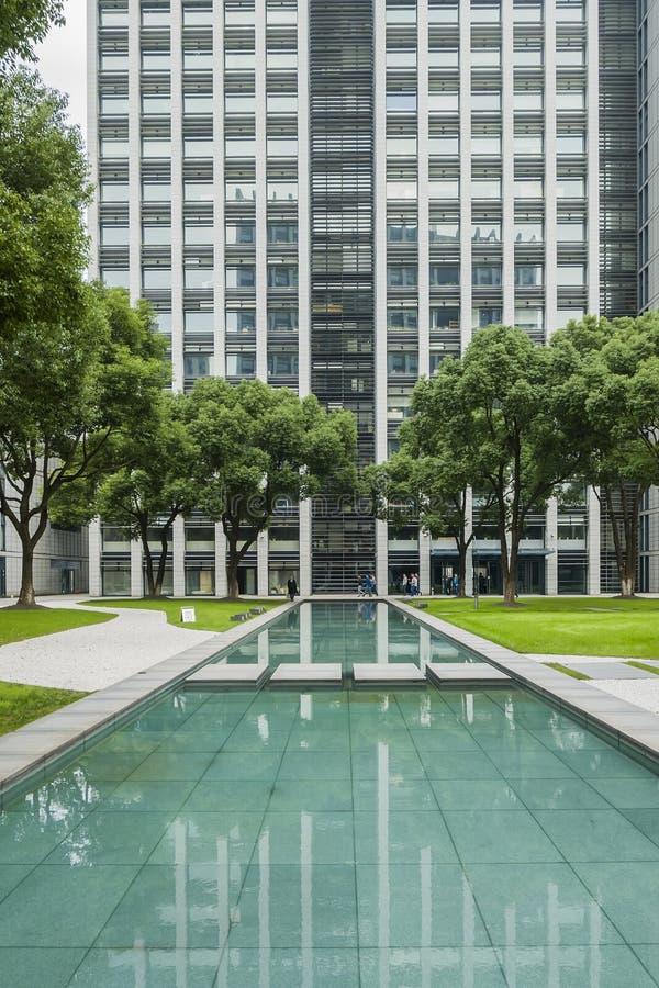 abstrakt byggnadssikt arkivbilder