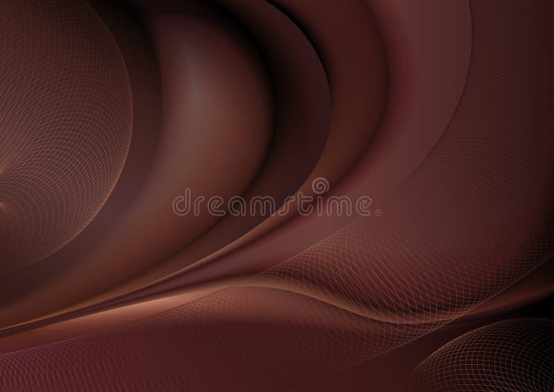 abstrakt choklad vektor illustrationer