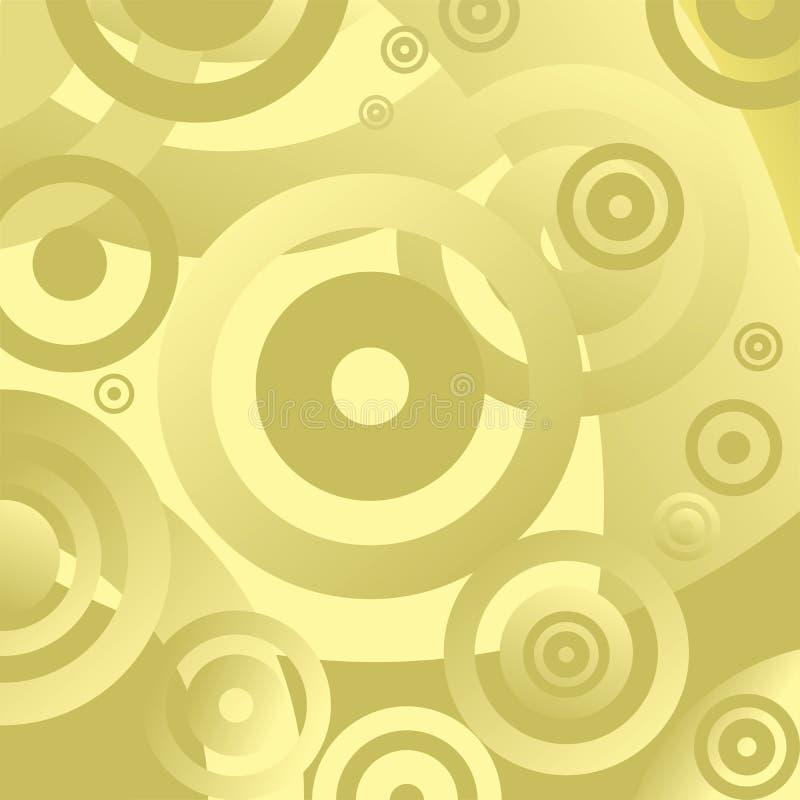 abstrakt cirkel vektor illustrationer