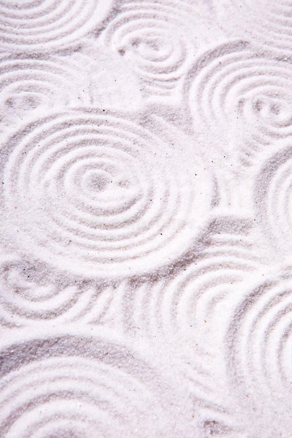 abstrakt cirkelsand arkivbild