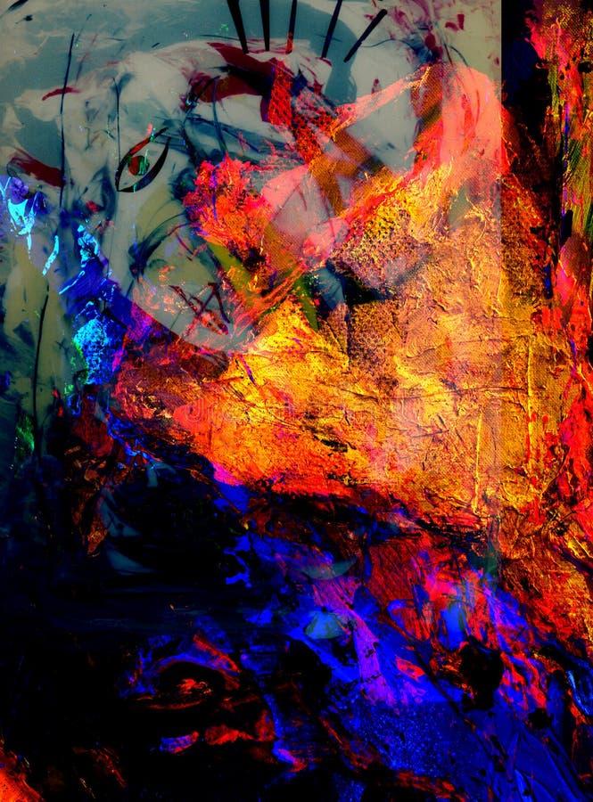 abstrakt collage arkivbild