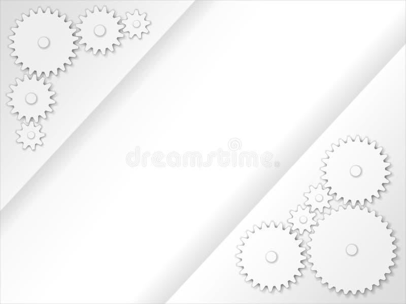 Abstrakt 3D przygotowywa tło royalty ilustracja
