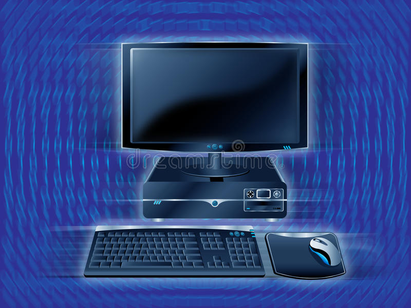 abstrakt dator royaltyfria foton