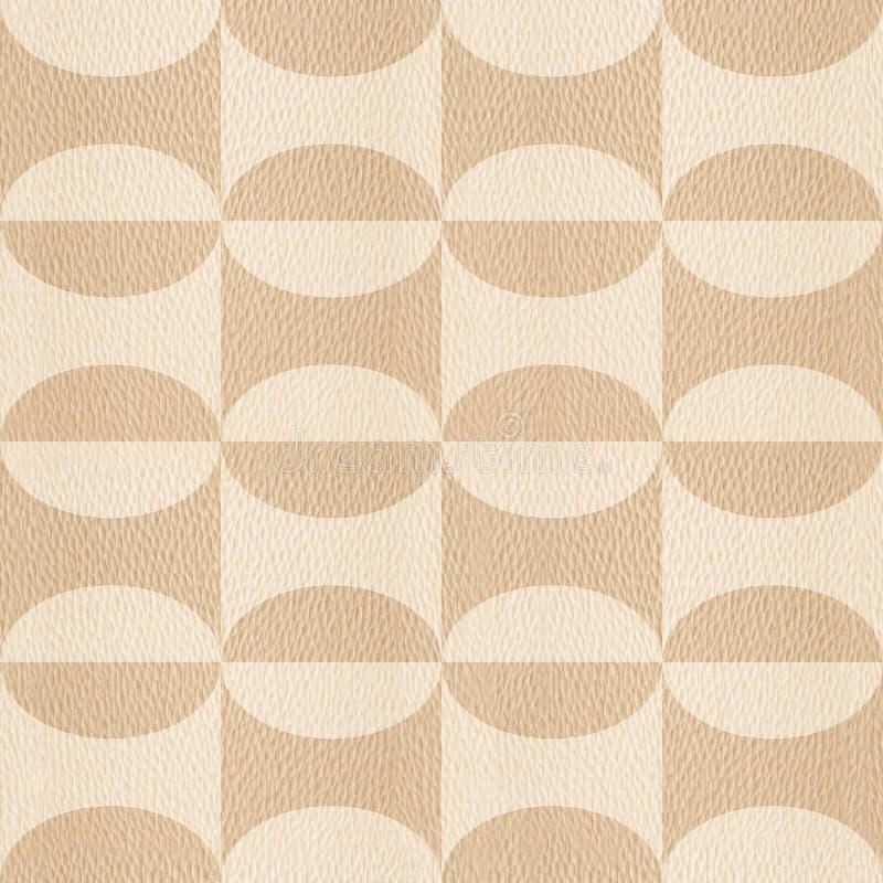 Abstrakt dekorativ textur - sömlös bakgrund - vit ek vektor illustrationer