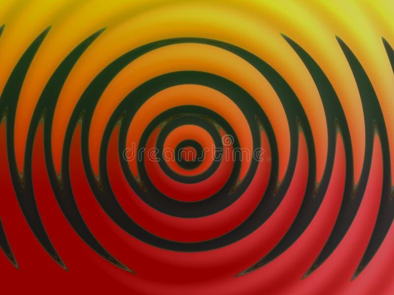 abstrakt design 2 royaltyfri illustrationer