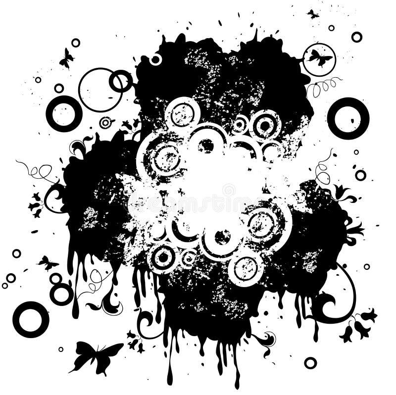 abstrakt design royaltyfri illustrationer