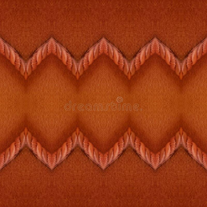 abstrakt design med tyg och kabel i röd färg, bakgrund och textur stock illustrationer