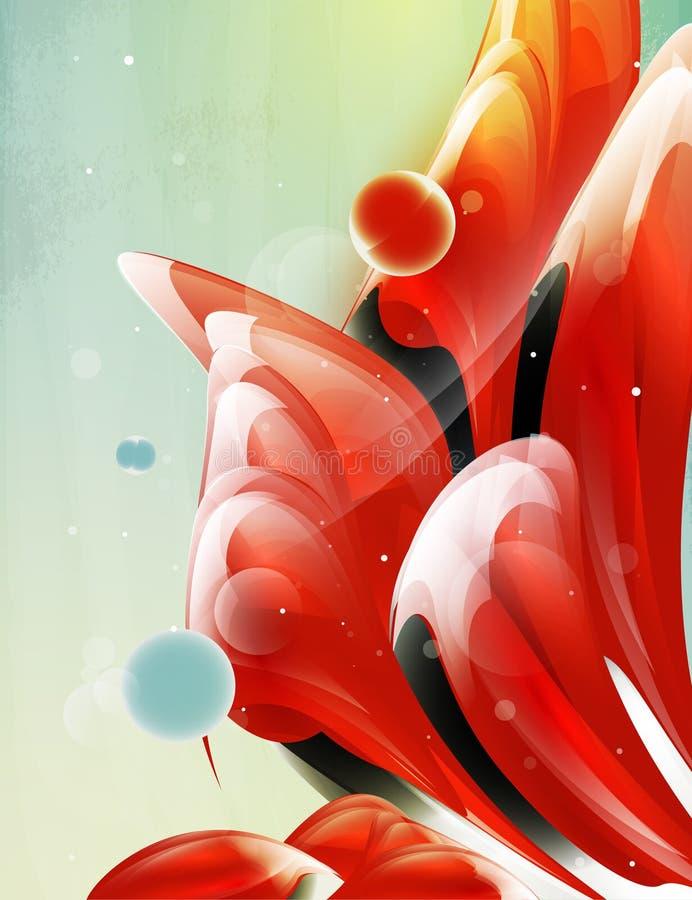 abstrakt designelementdatalista royaltyfri illustrationer