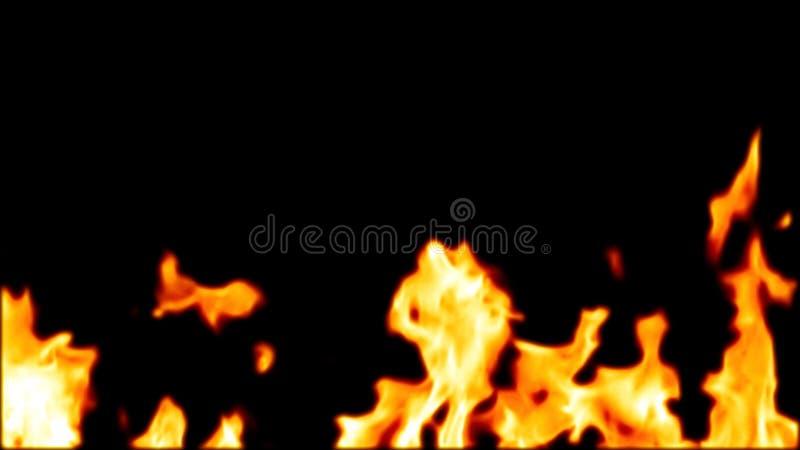 abstrakt detaljerad brand 3d högt royaltyfri bild