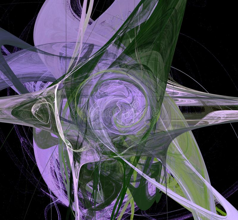 Abstrakt digital creatiopn Saturn arkivfoton