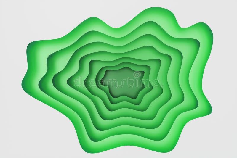 Abstrakt dokument med olika förslagsnittbakgrund, papperssnittmall lättnadseffekt för papper 3D för din designorientering, presen stock illustrationer