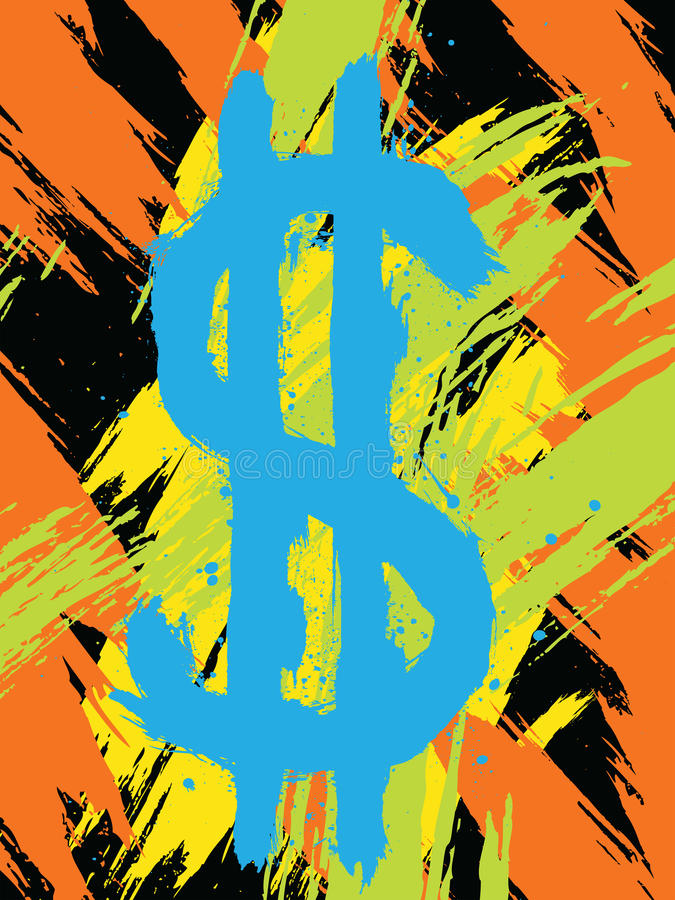 Download Abstrakt dollar vektor illustrationer. Illustration av illustration - 19782013