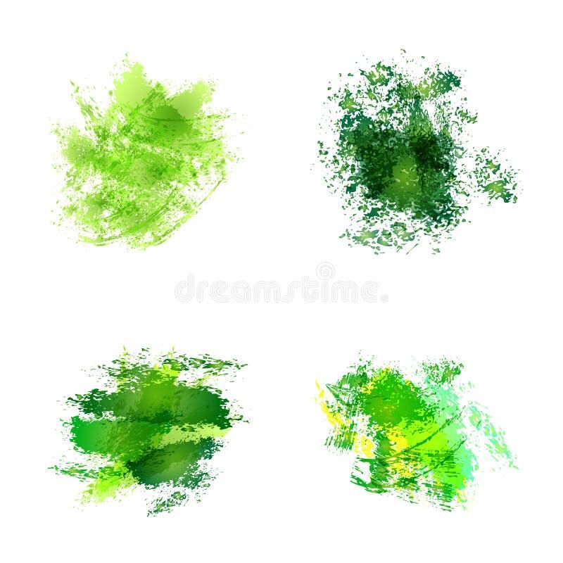 abstrakt dostrzega akwarelę ilustracja wektor