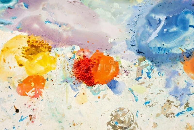 abstrakt färg arkivbild