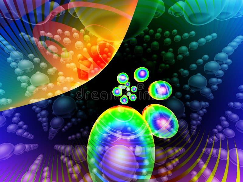 abstrakt färger vektor illustrationer