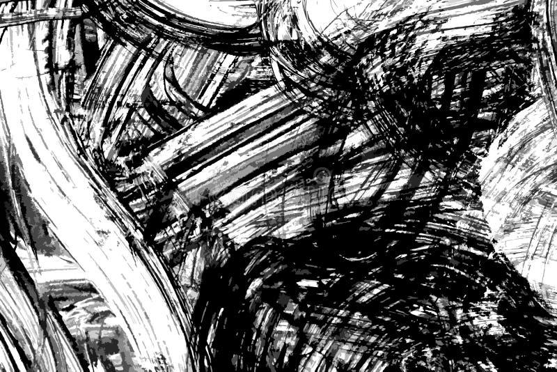 Abstrakt färgpulver smärtade vektorbakgrund vektor illustrationer