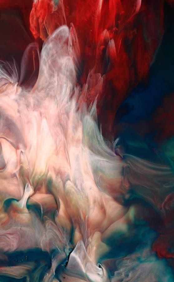 Abstrakt färgpulverbakgrund   royaltyfria foton
