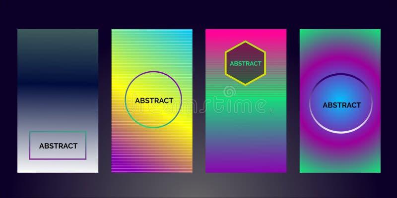 Abstrakt färgrik affärsbroschyrdesign färgrik 2019 - vektor