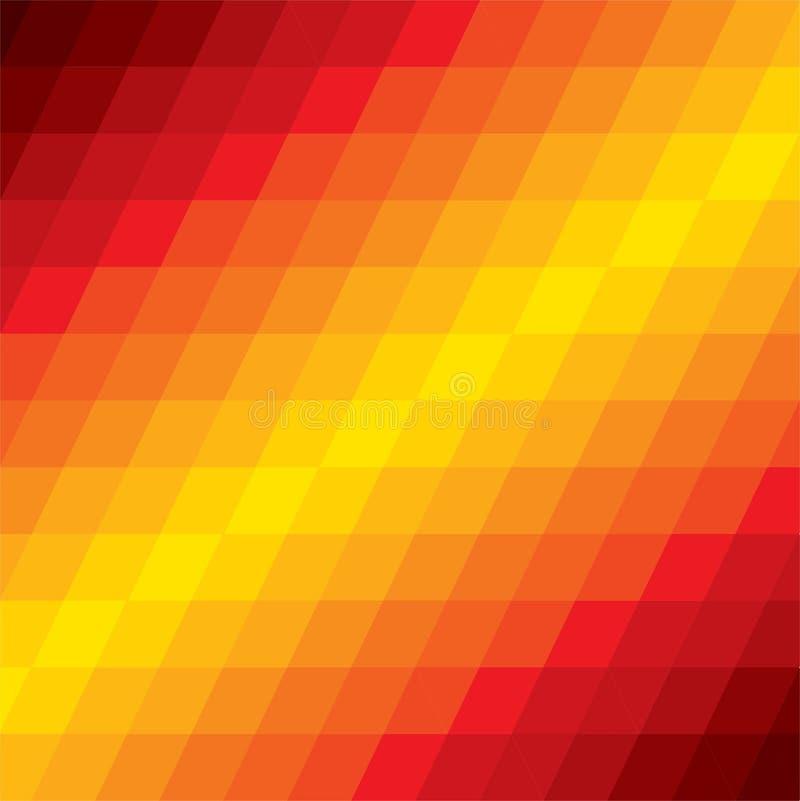Abstrakt färgrik bakgrund av geometriska former för diamant vektor illustrationer