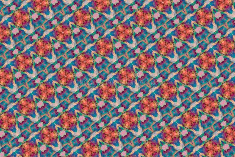 Abstrakt färgrik bakgrund för harlekin stock illustrationer