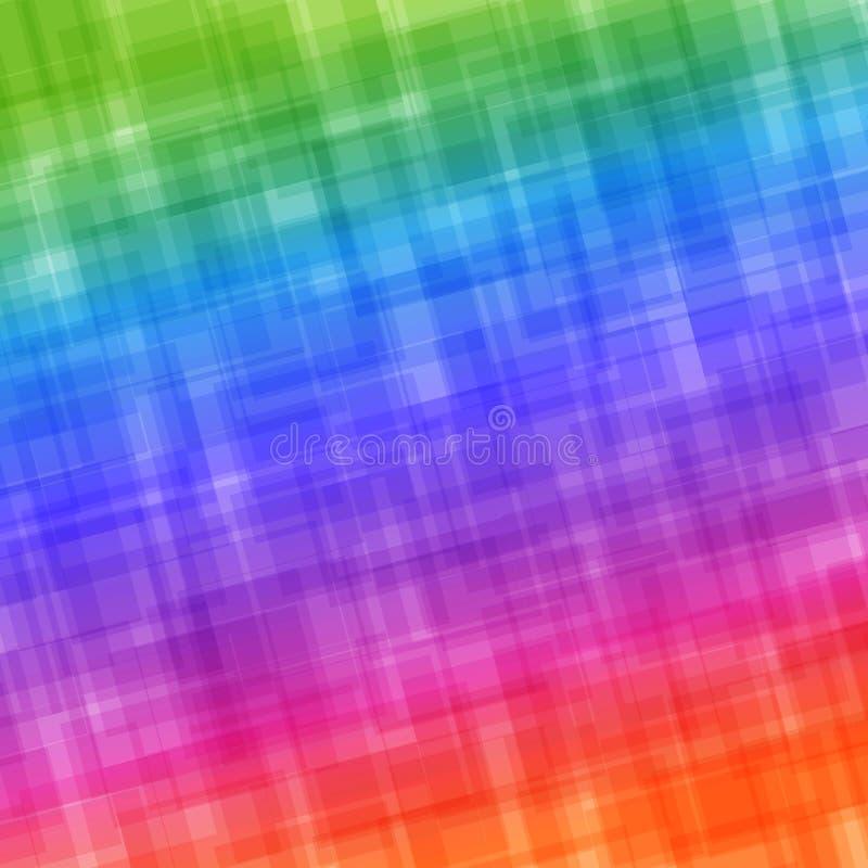 Abstrakt färgrik bakgrund för universal med lutningeffekt stock illustrationer