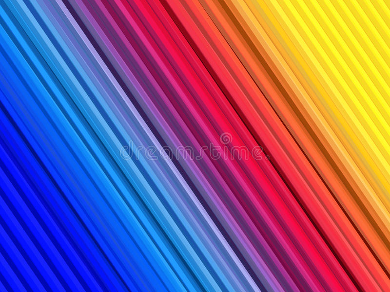 Abstrakt färgrik bakgrund med raka linjer band banret colors kurvillustrationingrepp ingen regnbågevektor vita Design för affärsm vektor illustrationer