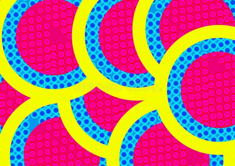 Abstrakt färgrik bakgrund, modelldesign`, royaltyfri illustrationer
