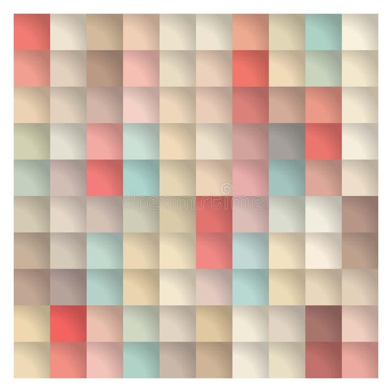 Abstrakt färgrik bakgrundsmall vektor stock illustrationer