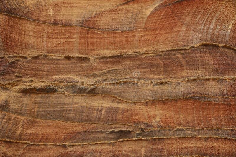 Abstrakt färgrik modellsandstenklyfta Siq, Rose City, Petra, royaltyfri foto