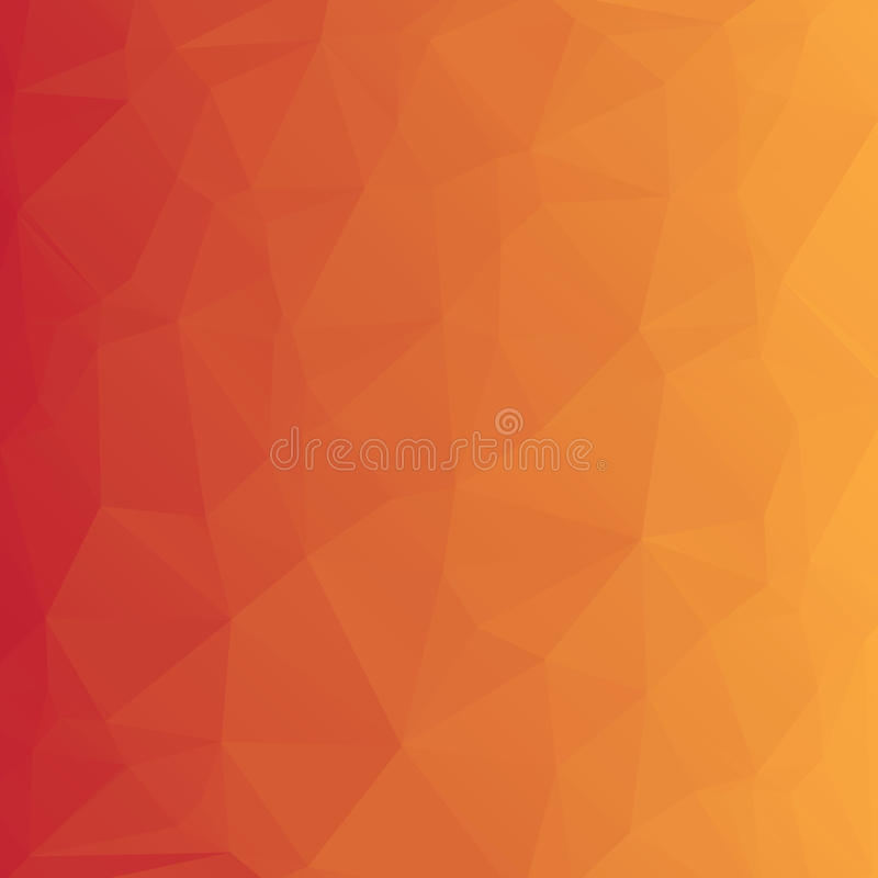 Abstrakt färgrik polygonal bakgrund stock illustrationer
