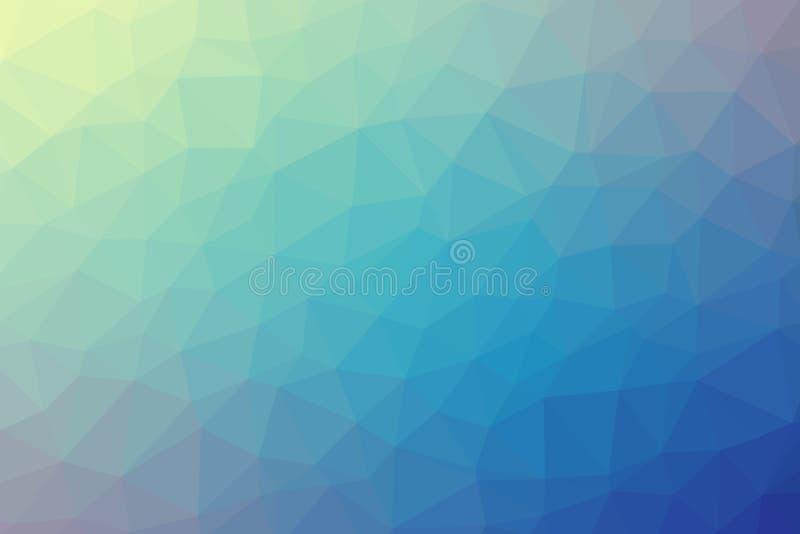 Abstrakt färgrik vektor för polygonlutningbakgrund royaltyfria foton