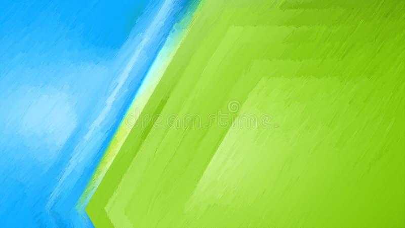 Abstrakt för DesignBeautiful för blå och grön textur bakgrund för design för grafik elegant illustration royaltyfri illustrationer