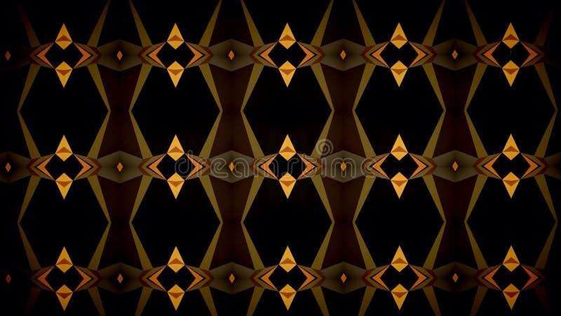 Abstrakt för färgmodell för mörk svart orange tapet arkivfoto