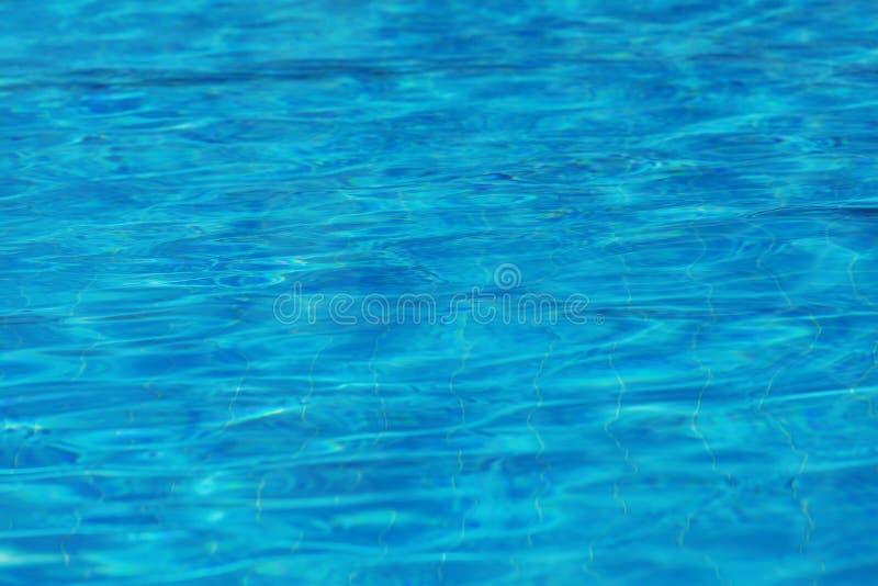 Abstrakt för yttersidabakgrund för blått vatten textur fotografering för bildbyråer