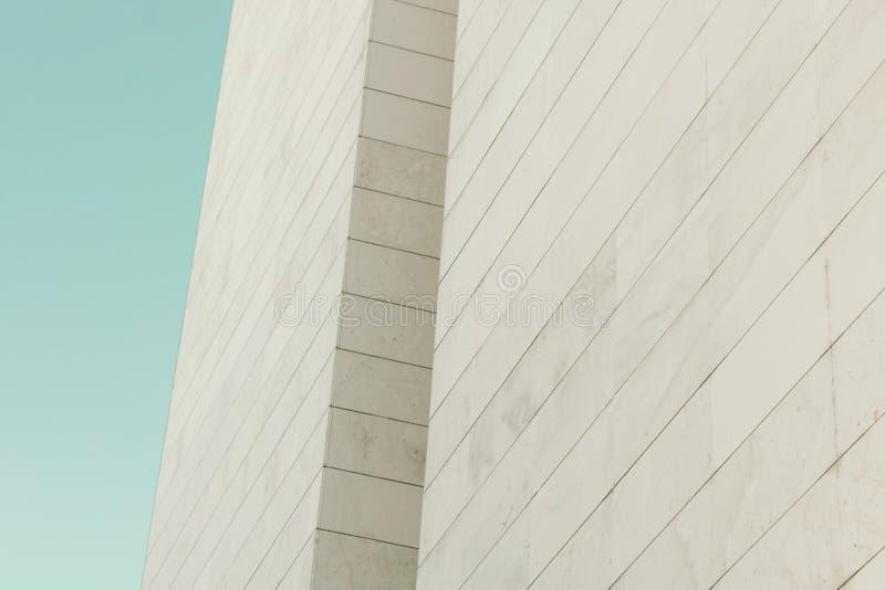 abstrakt facade royaltyfri bild