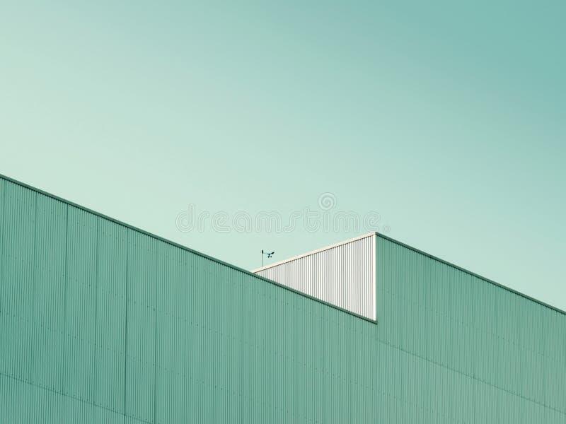abstrakt facade arkivfoto