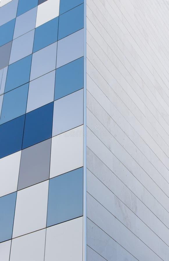 abstrakt facade royaltyfria foton