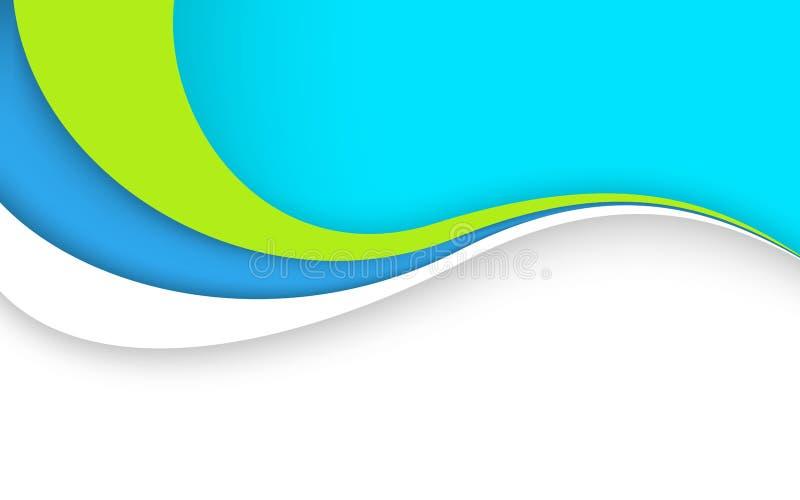 Abstrakt fala - dane strumienia pojęcie również zwrócić corel ilustracji wektora ilustracja wektor