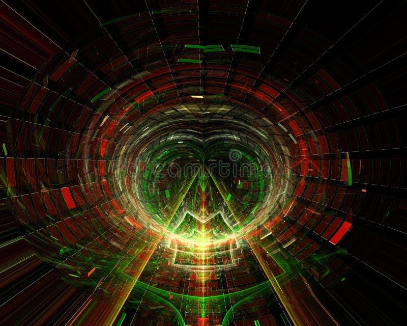 Abstrakt, fantazja, graficznego pojęcie projekta stylu energetyczny tło cyfrowy, fractal, władzy nauka ilustracji