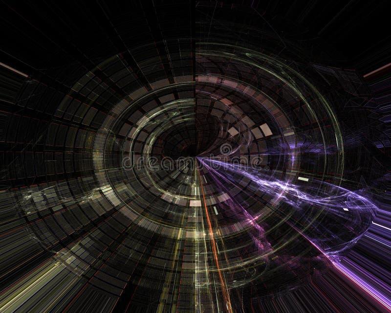 Abstrakt, fantazja, graficzny chaosu pojęcia projekta energetyczny tło cyfrowy, fractal, władzy nauka ilustracji