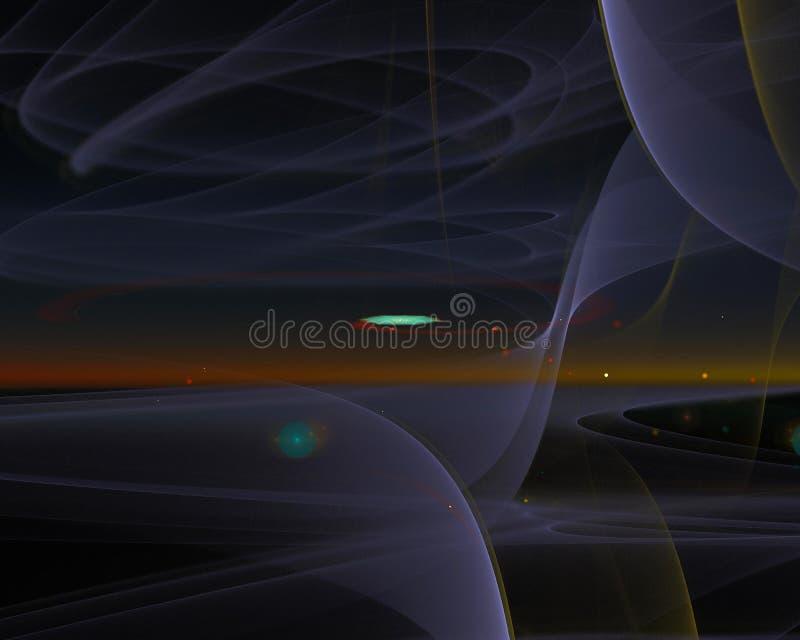 Abstrakt, fantazja, graficzny kształta sen pojęcia projekta energetyczny tło cyfrowy, fractal, władzy nauka ilustracji