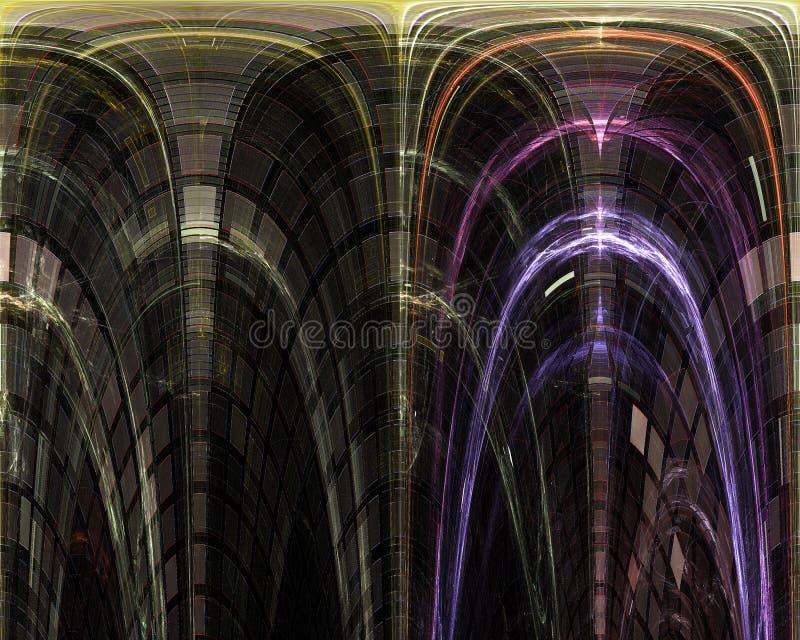 Abstrakt, fantazja, graficzny ruchu chaosu pojęcia projekta energetyczny tło cyfrowy, fractal, władzy nauka ilustracji