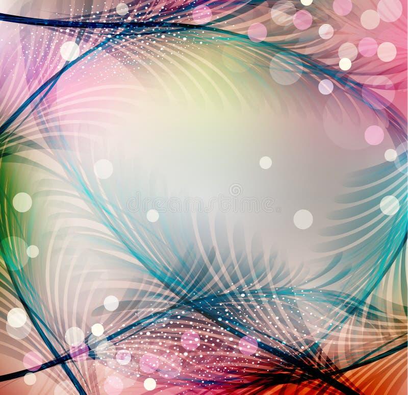 Abstrakt festlig bakgrund för vektor stock illustrationer