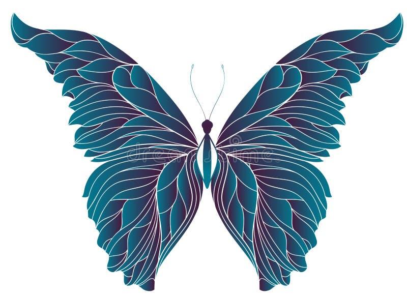 abstrakt fjäril arkivfoton